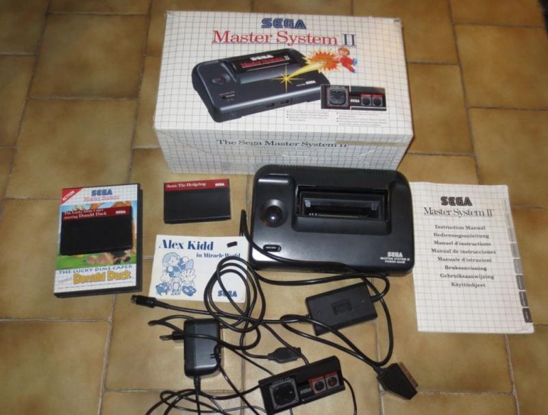 VENDU Sega Master system 2 + 2 jeux Img_0911