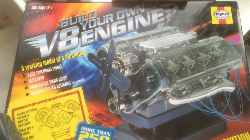 Un nouveau V8 qui va bientôt arriver V810