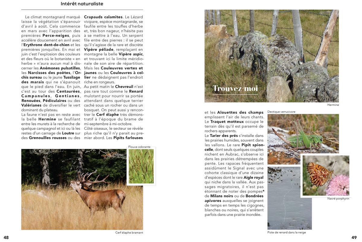Itinéraires naturalistes en Lozère Guide_11