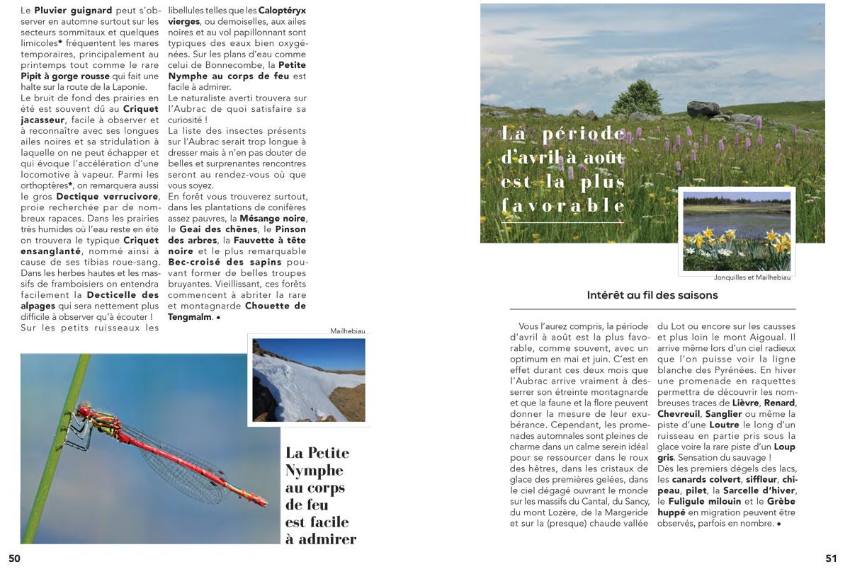 Itinéraires naturalistes en Lozère Guide_12