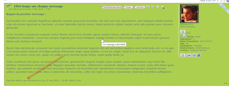 [PHPBB3] Coloriser les messages édités 00111