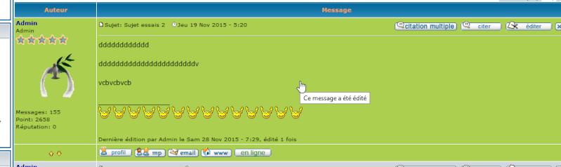 [PHPBB2] Coloriser les messages édités 00112