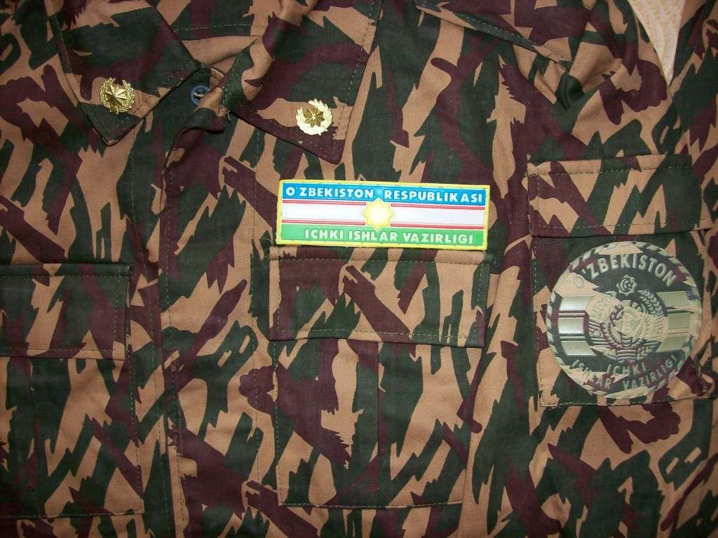 Types of camo uniform for Uzbekistan law enforcements (except the Ministry of defense) 100_1512