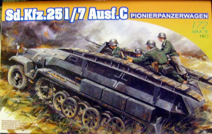 Sd.Kfz.251/7 Ausf.C 1/72 ème dragon S7300928