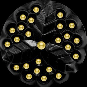 Scrap doré noir Nycbut10