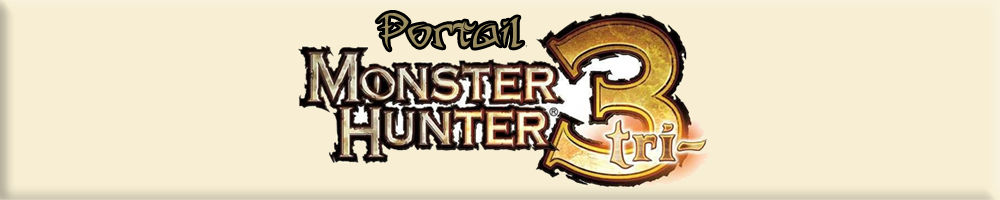 Portail Monster Hunter Tri