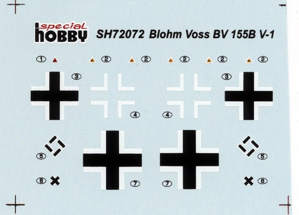 """Blohm & Voss BV 155B (V-1) """"Karawanken"""" (1:72,  Special Hobby SH 72072) Bv_55514"""