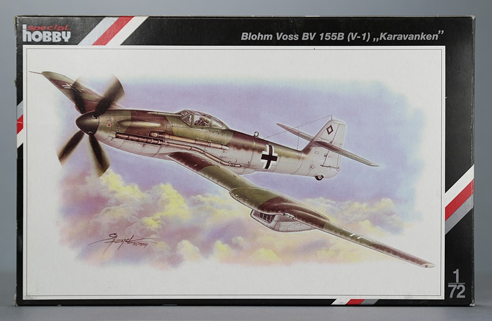 """Blohm & Voss BV 155B (V-1) """"Karawanken"""" (1:72,  Special Hobby SH 72072) Img_1710"""
