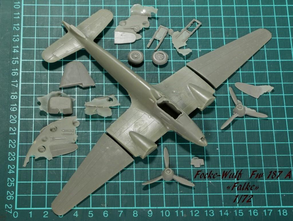 Focke-Wulf Fw 187 ''Falke'' (1:72, KARO AS & marque inconnue ?) Img_3011