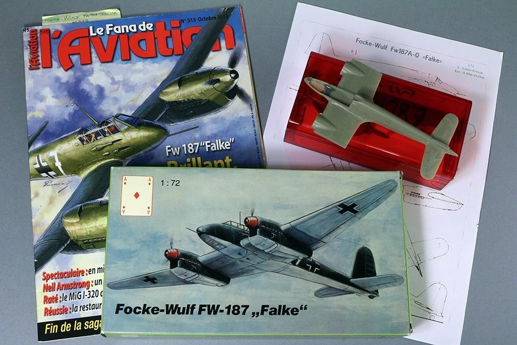 Focke-Wulf Fw 187 ''Falke'' (1:72, KARO AS & marque inconnue ?) Img_3012