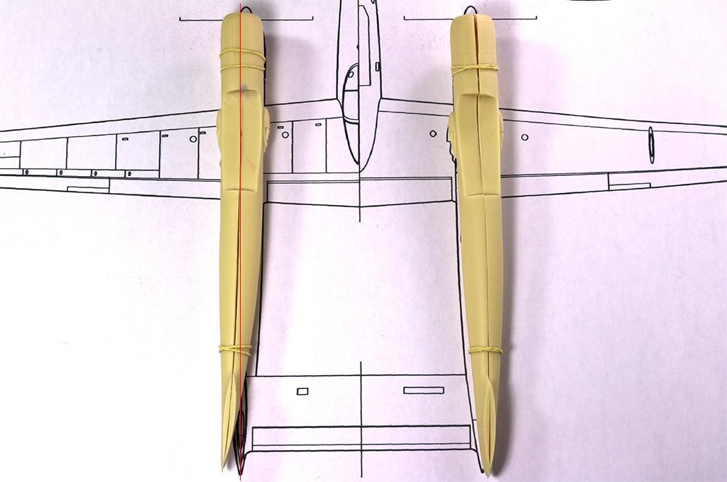 Hughes XF-11 (1/72, Anigrand) Img_5511