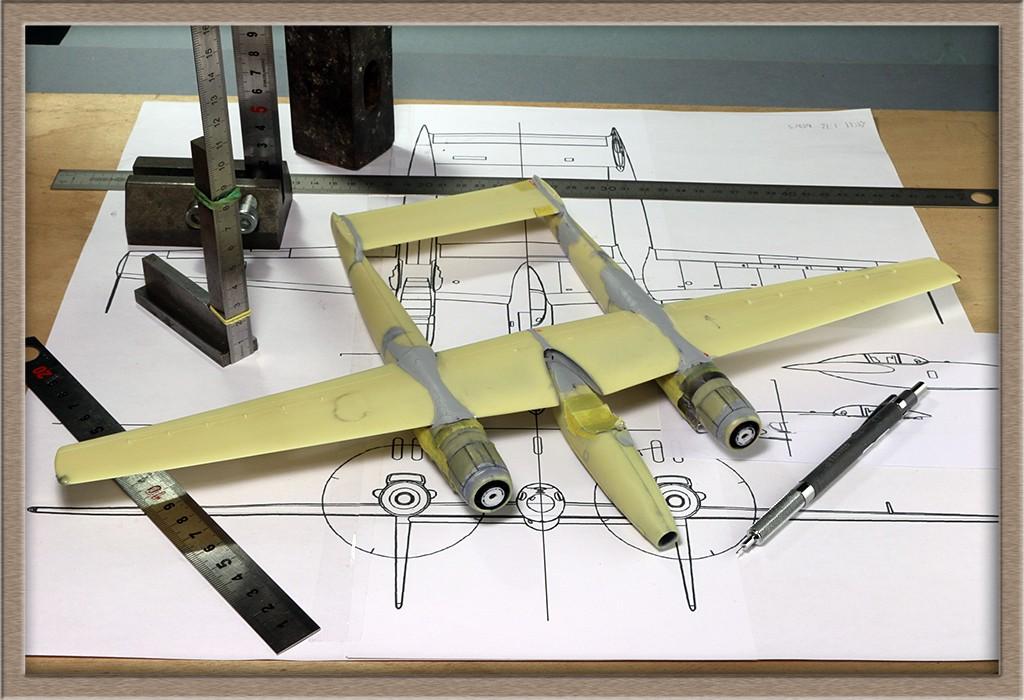 Hughes XF-11 (1/72, Anigrand) - Page 3 Img_5619