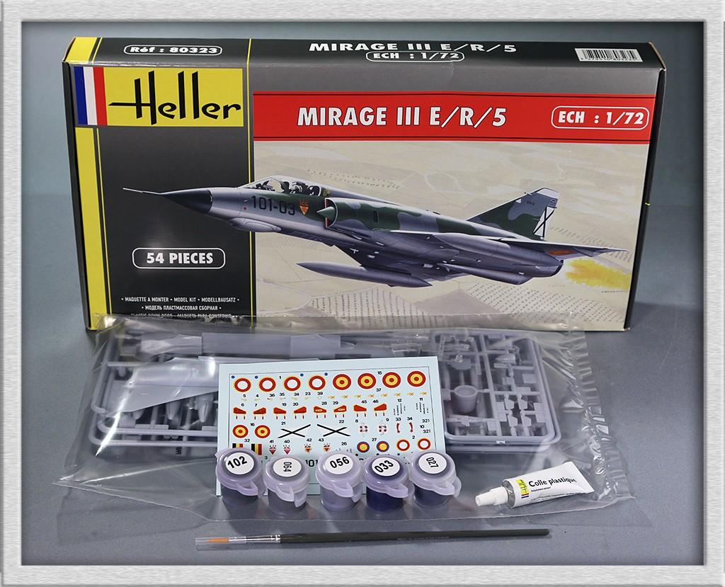 A.M.D. Mirage III E/B/5, 1/72ème (kit # 80323 + 50323) Img_5626