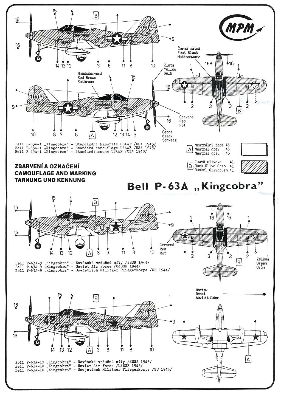 """Bell P-63A """"Kingcobra"""" (1/72, MPM) P-63a_13"""