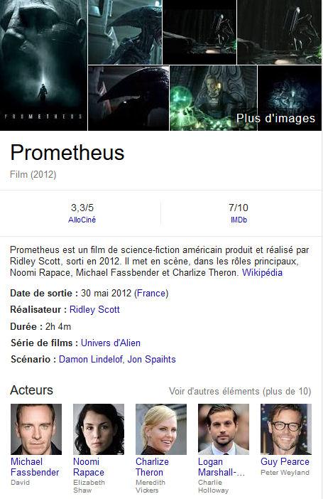 [Film SF] 3 Prequels d'Alien en préparation Castin10