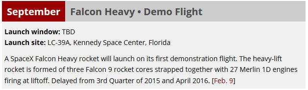 [SpaceX] Actualités et développements de la Falcon Heavy Launch10