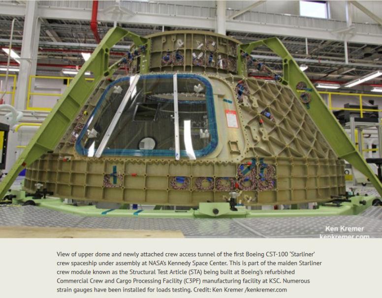 [Boeing] Suivi de la construction du Starliner  (CST-100) et du pas de tir LC-41 - Page 2 Modele10