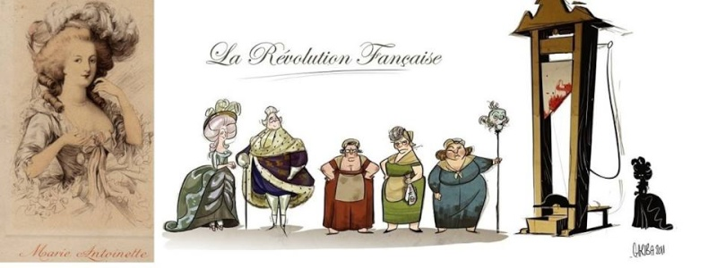 Les révolutionnaires caricaturés 10421310