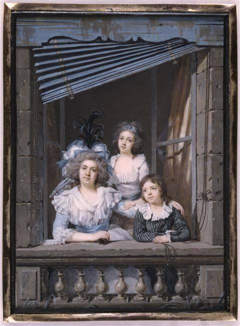 """Portraits  """" à la fenêtre """" 12592110"""