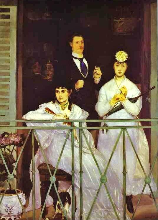 """Portraits  """" à la fenêtre """" 1868_y10"""