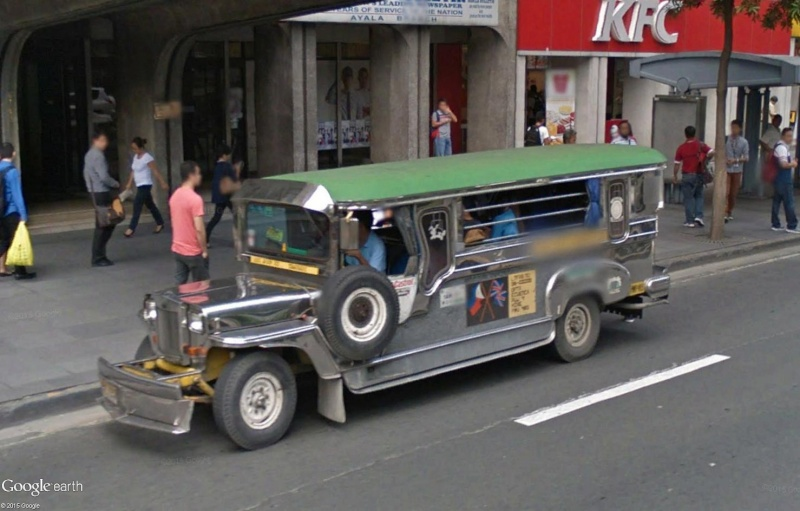 STREET VIEW : à la découverte des Jeepneys - Philippines Sans_118