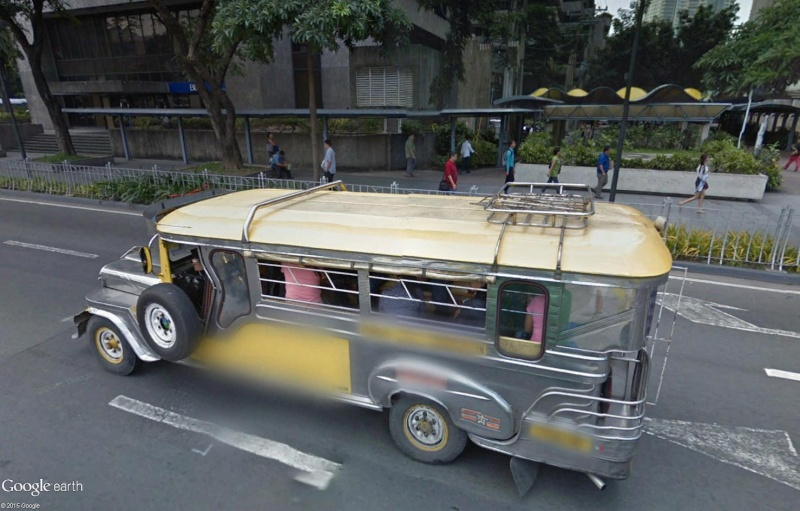 STREET VIEW : à la découverte des Jeepneys - Philippines Sans_121