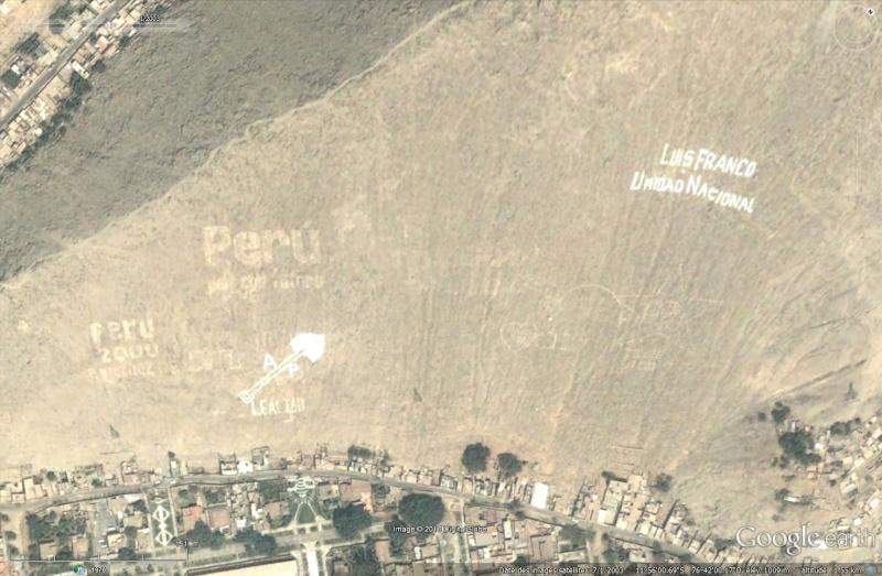 Ecritures plus quelques dessins au Pérou Sans_445