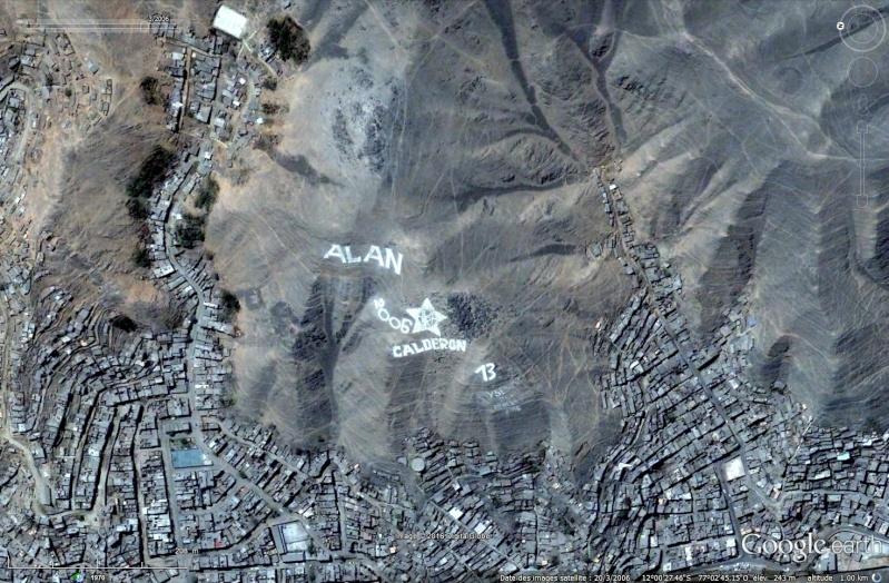Ecritures plus quelques dessins au Pérou Sans_452