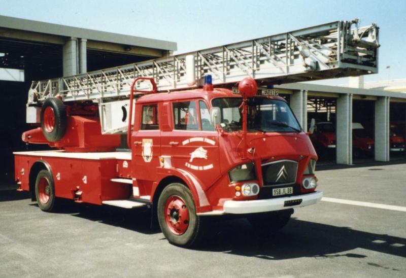 Les pompiers des Ardennes aiment CITROËN 12101
