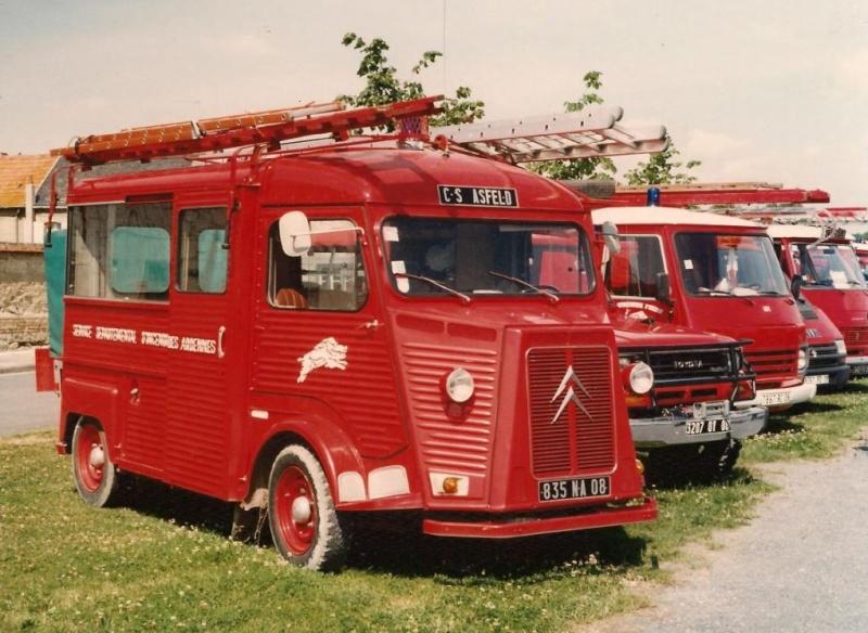 Les pompiers des Ardennes aiment CITROËN 1441