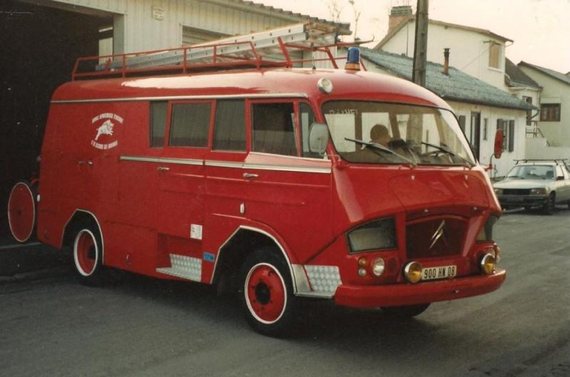 Les pompiers des Ardennes aiment CITROËN 1712
