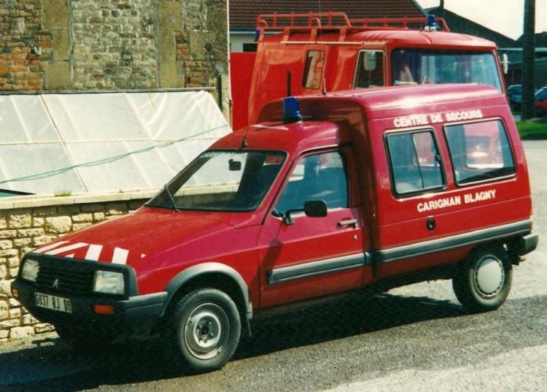 Les pompiers des Ardennes aiment CITROËN 3170