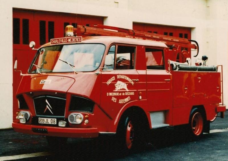 Les pompiers des Ardennes aiment CITROËN 641
