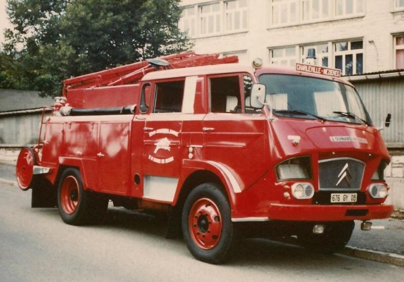 Les pompiers des Ardennes aiment CITROËN 735