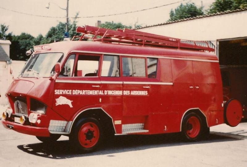 Les pompiers des Ardennes aiment CITROËN 830