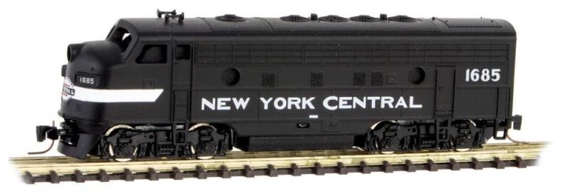 F7 Micro Trains Nyc_f710
