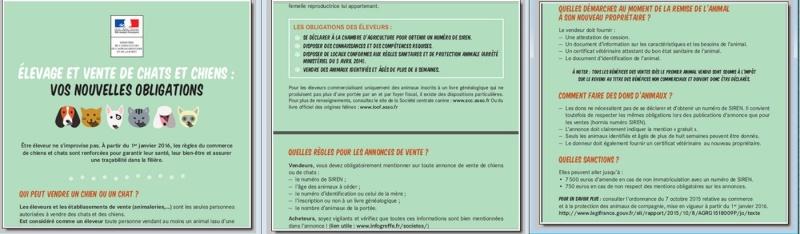 à partir du 01/01/16 : réglementation vente des animaux pour les particuliers Affich10