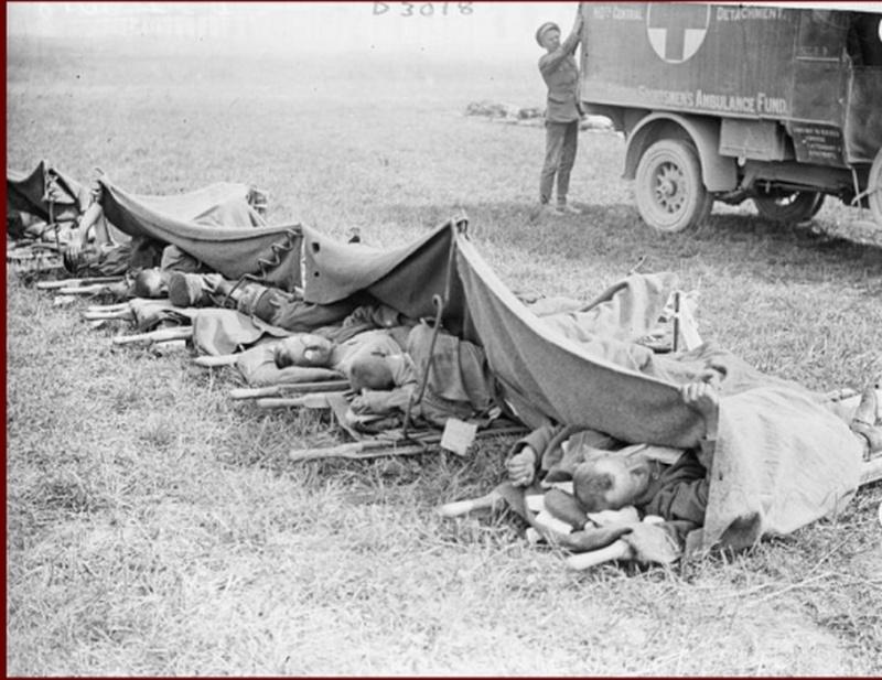 Un poste de secours de plein air Camp_m10