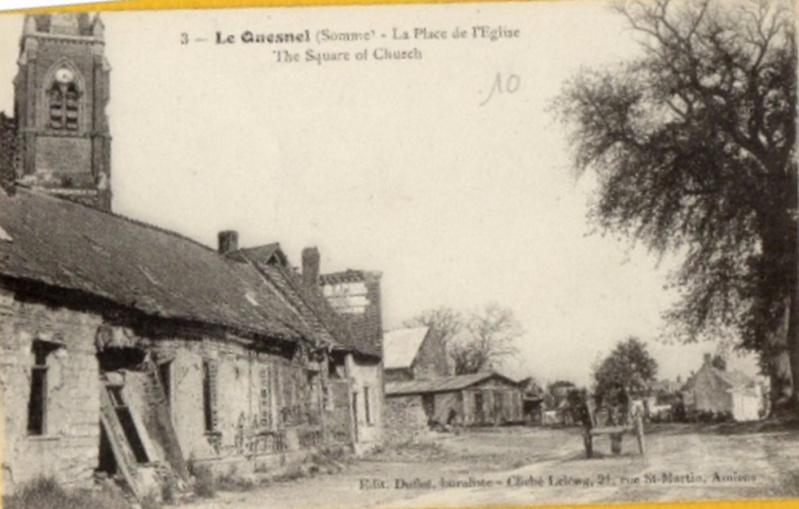 L'EGLISE de Le Quesnel : église Saint léger. Eglise10