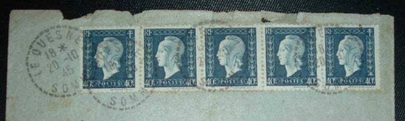 cartes postales originales de LE QUESNEL Timbre10