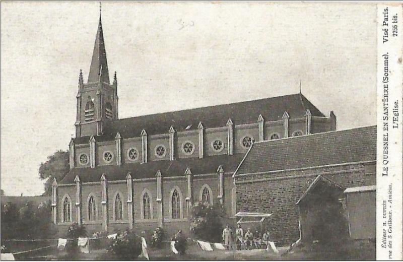 L'EGLISE de Le Quesnel : église Saint léger. Yglise10