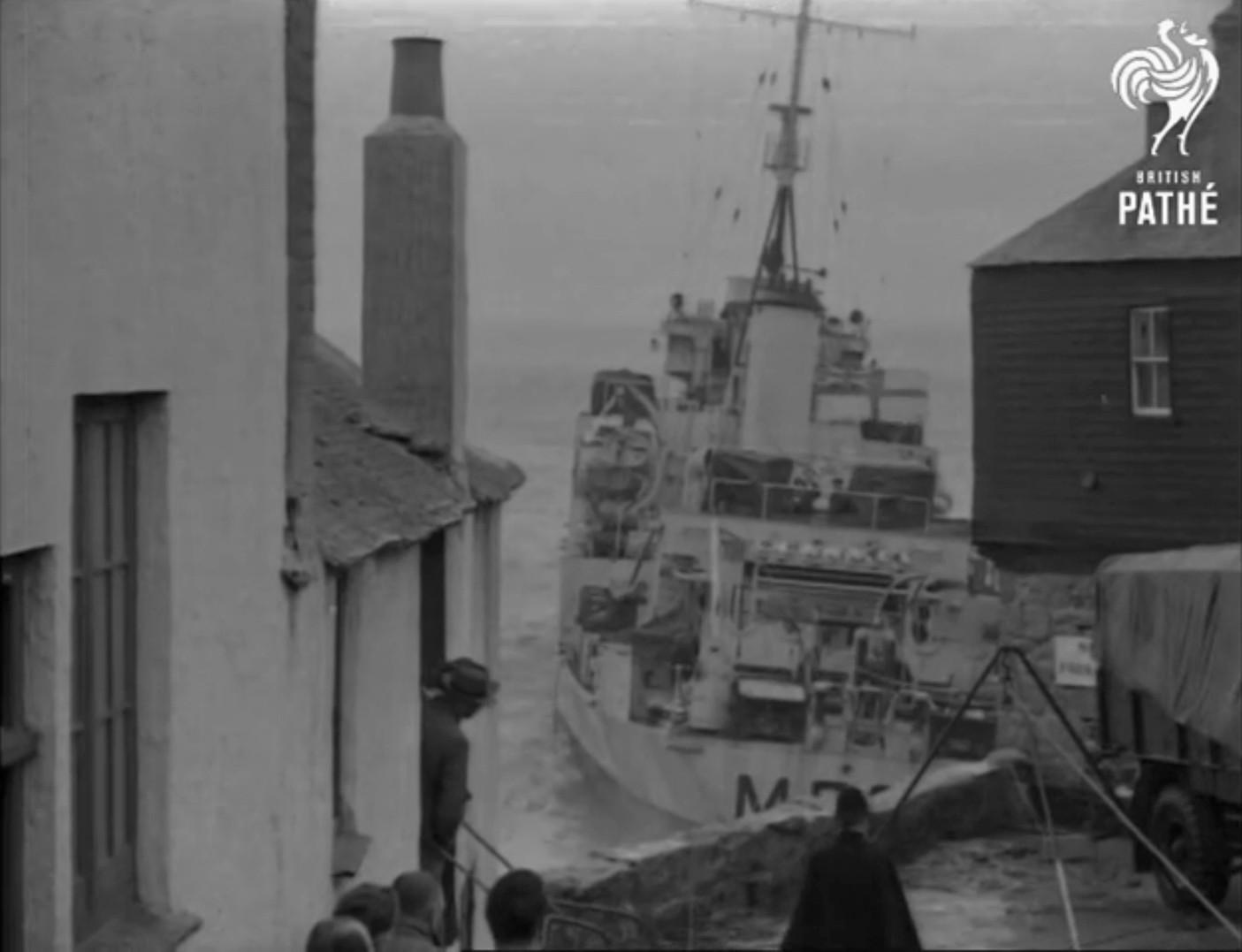 Echouage d'une Algérine britannique en 1952 ! Alger111