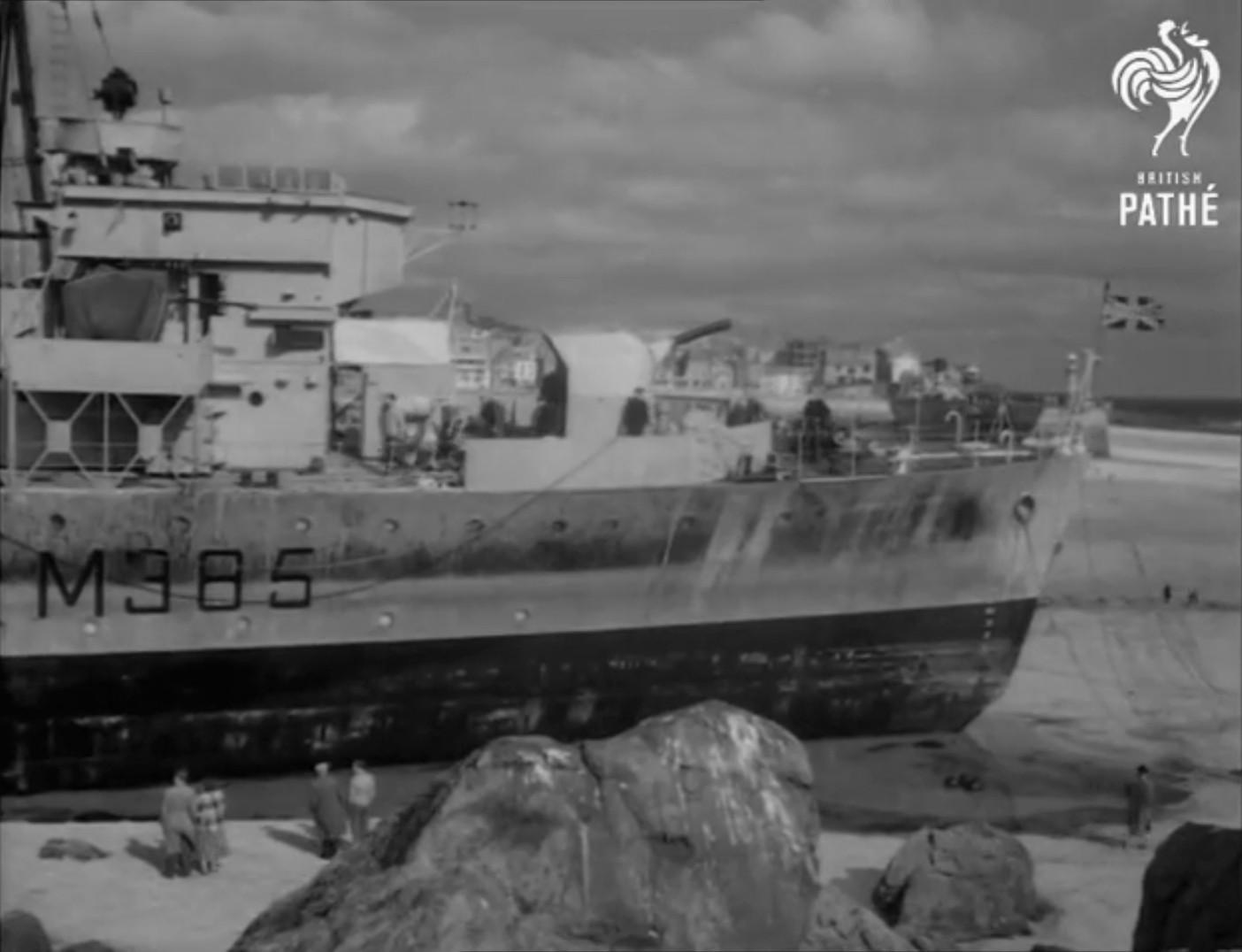 Echouage d'une Algérine britannique en 1952 ! Alger510