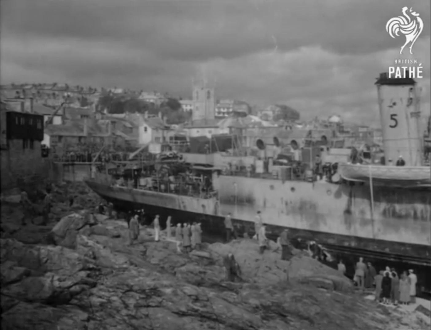 Echouage d'une Algérine britannique en 1952 ! Alger610