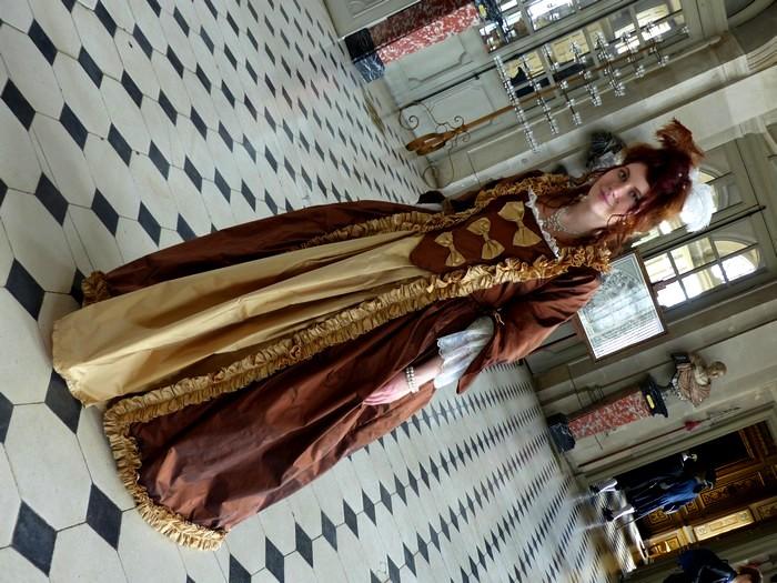 [Vaux 2015] Robe à la française & robe XVIIIe P1220026