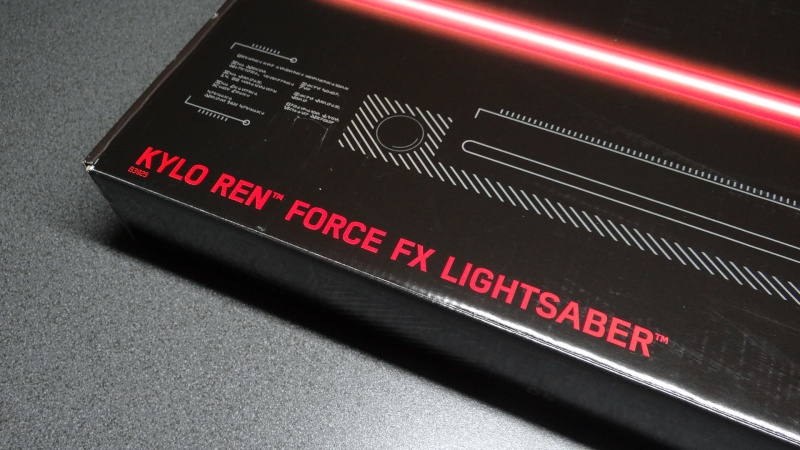 "Sabre Laser FORCE FX  ""KYLO REN""  Dsc05213"