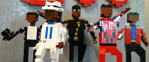 Michael Jackson Figurines Legola10