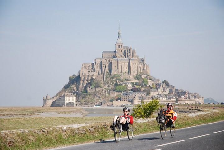 Bagnoles de l'Orne — le Mont St-Michel, 205 km le 24/4/2010 Bmtstm12