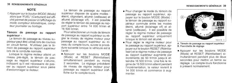 manuel du propriétaire zx6r 2009 / 2010 2010