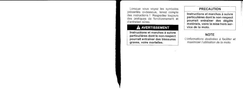 manuel du propriétaire zx6r 2009 / 2010 210
